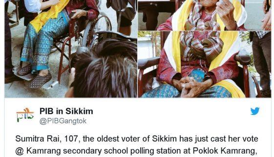 oldest voter 107