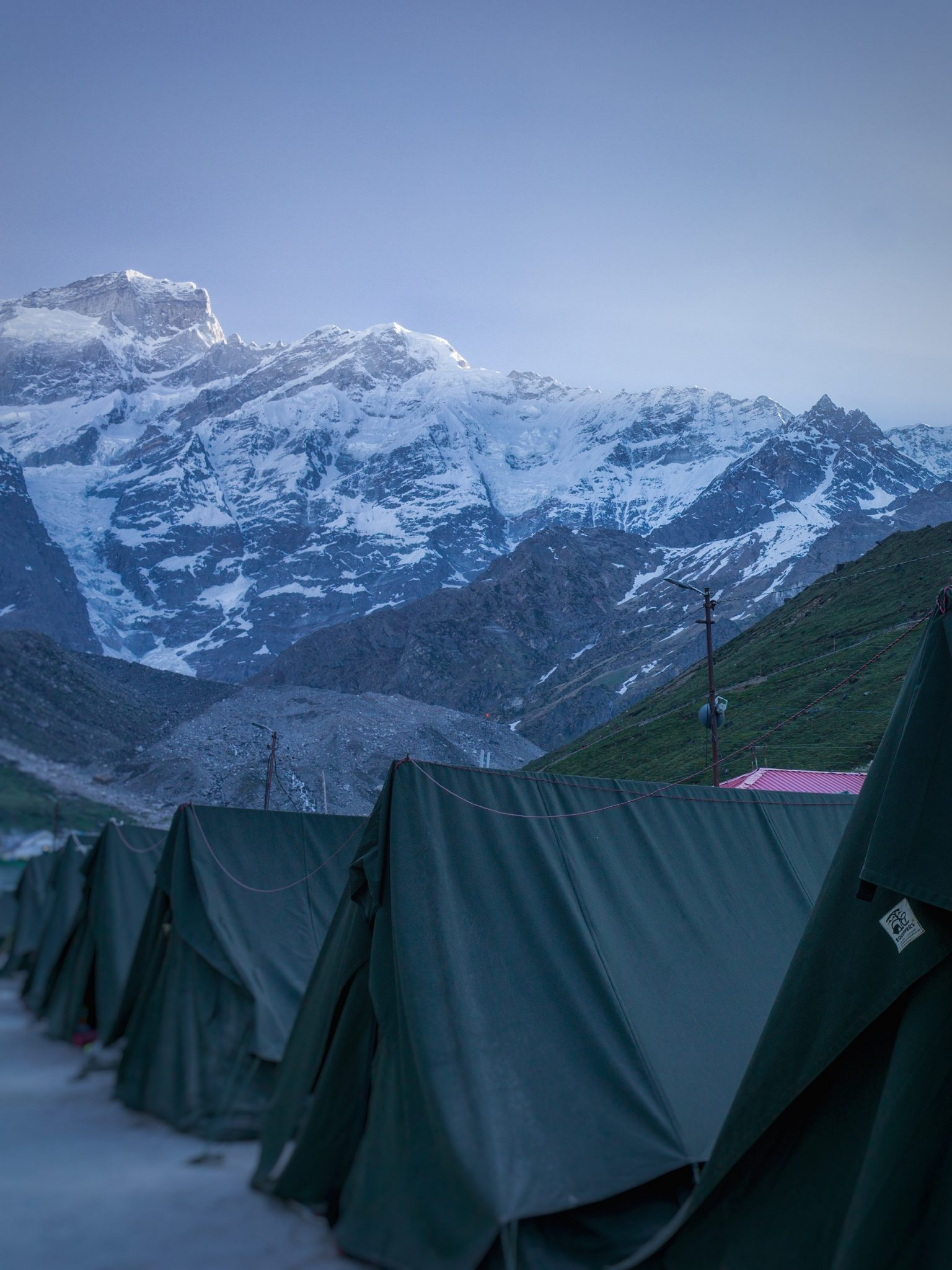 Tents @ Kedarnath Base Camp